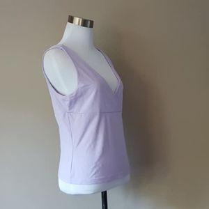 L / Express / Camisole /Violet Nylon/Spandex blend
